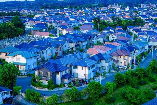 住宅街 土地