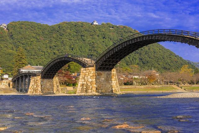 山口 岩国 錦帯橋