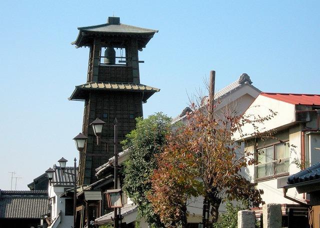 埼玉県 川越の時の鐘