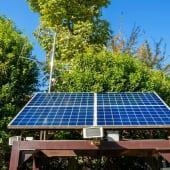 太陽光パネル 発電