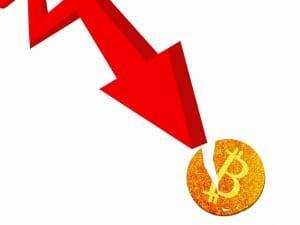 ビットコイン 急落
