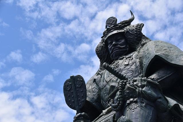 山梨県 甲府市 武田信玄公銅像